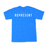 REPRESENT - Royal Blue Men's Tee