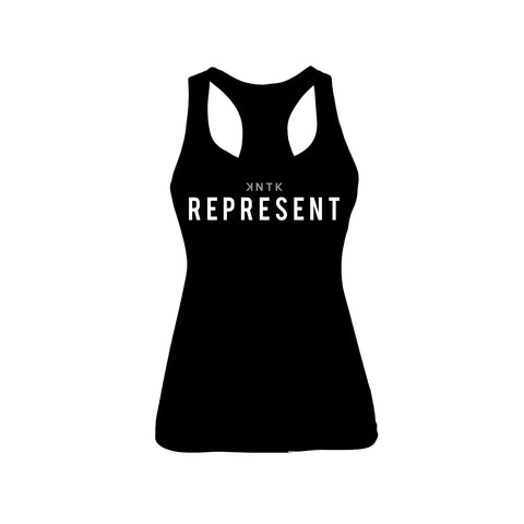 KNTK REPRESENT - Racerback Tank (2 Color Options)