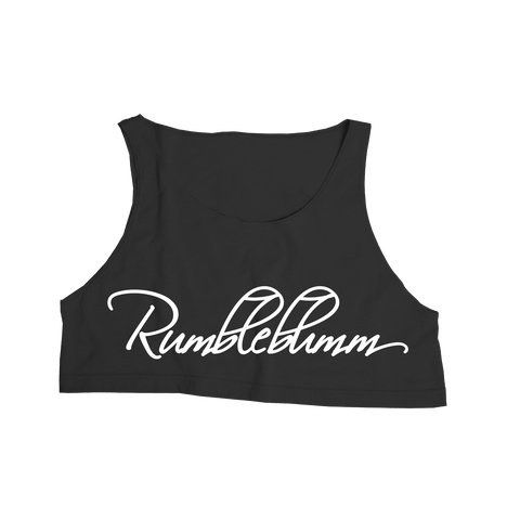 PRE SALE RELEASE - Rumble Crop Black