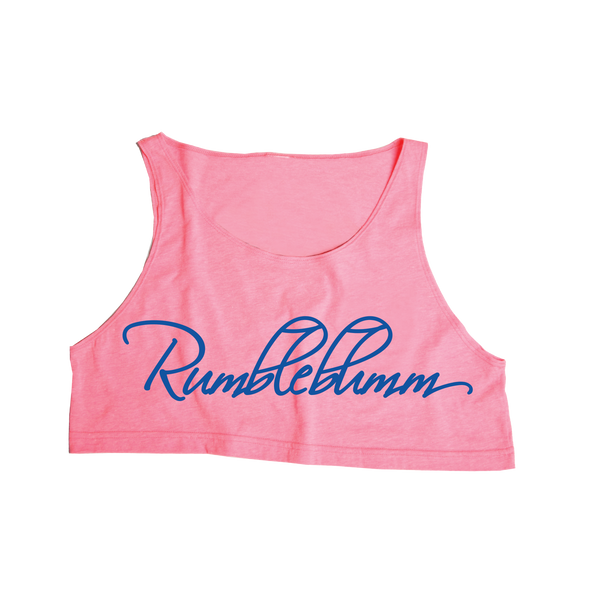 PRE SALE RELEASE - Rumble Crop Tropical Pink
