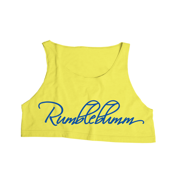 PRE SALE RELEASE - Rumble Crop Canary Yellow