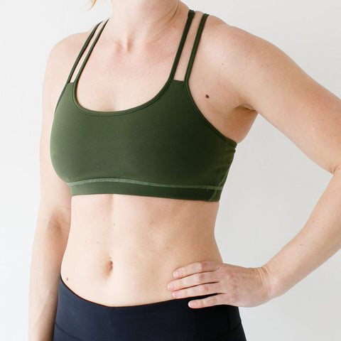 Rhapsody Sports Bra (4 Solid Color Options)