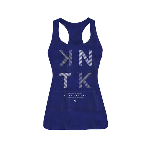 STACKED - Vintage Navy Women's Racerback Tank