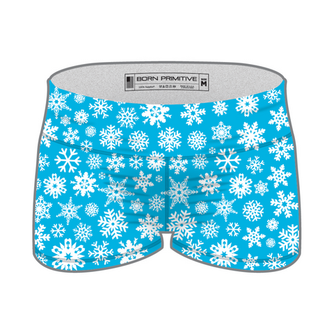 Snowflake Double Take Booty Shorts