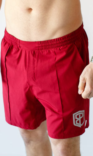 Training Shorts (Red)