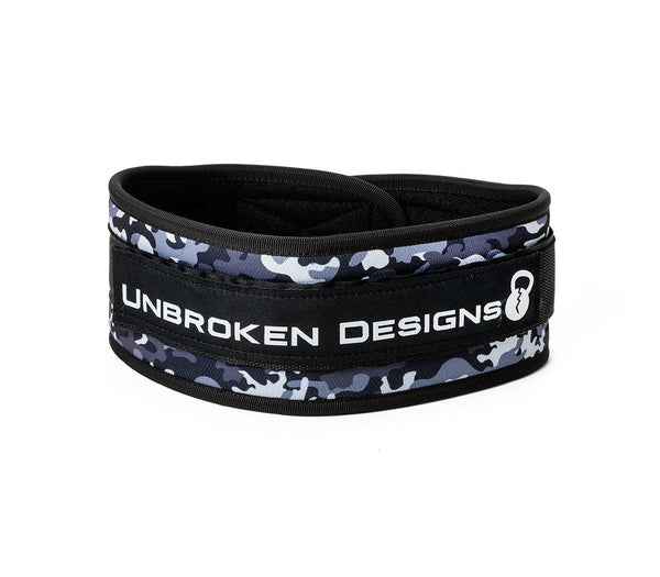 GREY CAMO LIFTING BELT