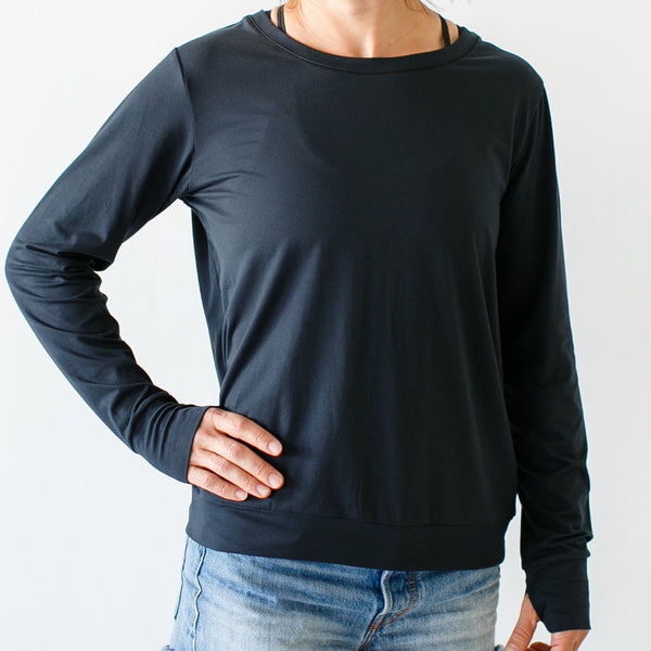 Athleisure Warm Up (Black)