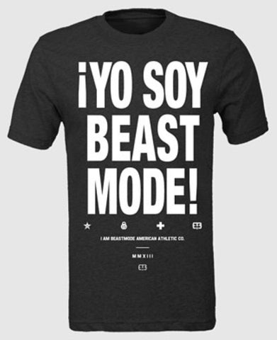 YO SOY BEASTMODE TEE (2 color options)
