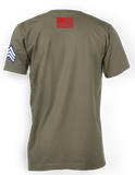 The Patriot Tee (Military Green)