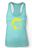 Built To Perform Racerback Tank (Tahiti Blue)