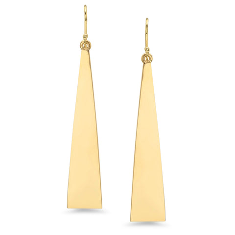 Triangle Solid Earrings