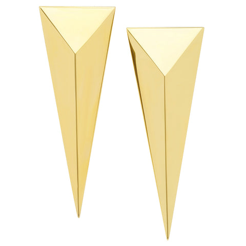 Pyramid Dagger Earrings