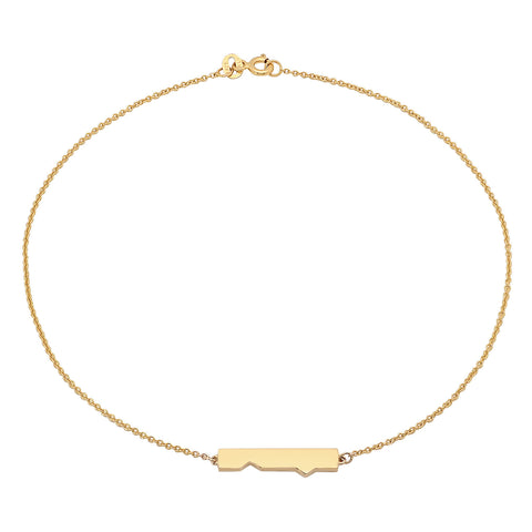 Friendship Plate Anklet (Pair)
