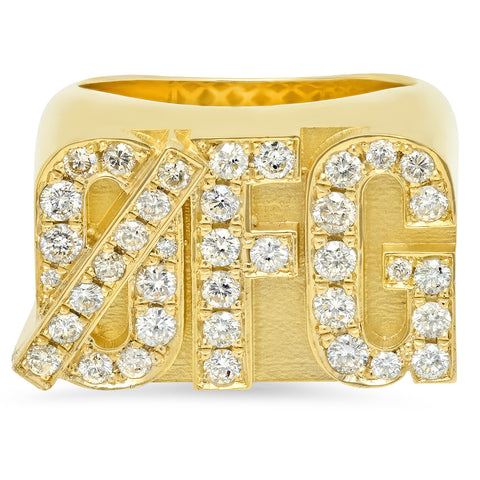 Zero FG Ring w/ Diamonds