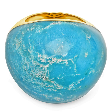 Turquoise Bauble Ring