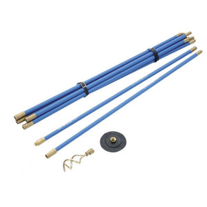 Bailey Universal 3/4in Drain Rod Set 2 Tools & Straps