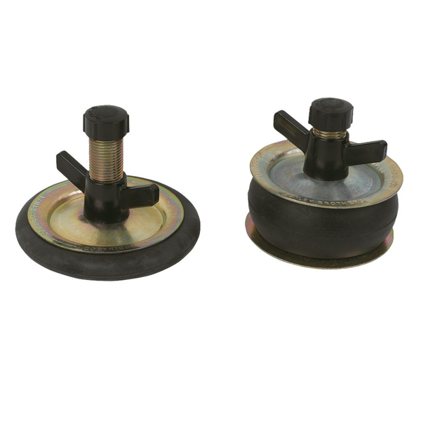 Steel Drain Test Plugs Pair Various Sizes