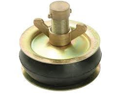 Bailey Centre Locking Brass Wing Nut Drain Test Plugs - Various Sizes/Types