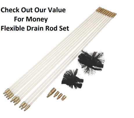 Bailey Flexible Drain Rod Set