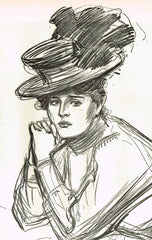 Gibson Girl Sketches