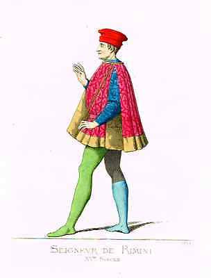 Antique Costume Print