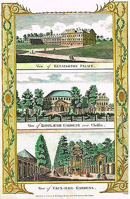 "Boswell's Antiquities ""VIEWS OF KENNSINGTON PALACE etc. H/C Eng. - 1786"