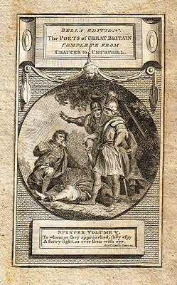 ANTIQUE MINIATURE PRINT