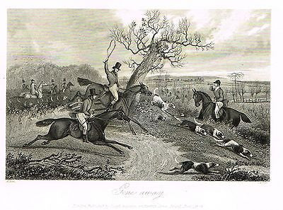 ANTIQUE SPORTING PRINT