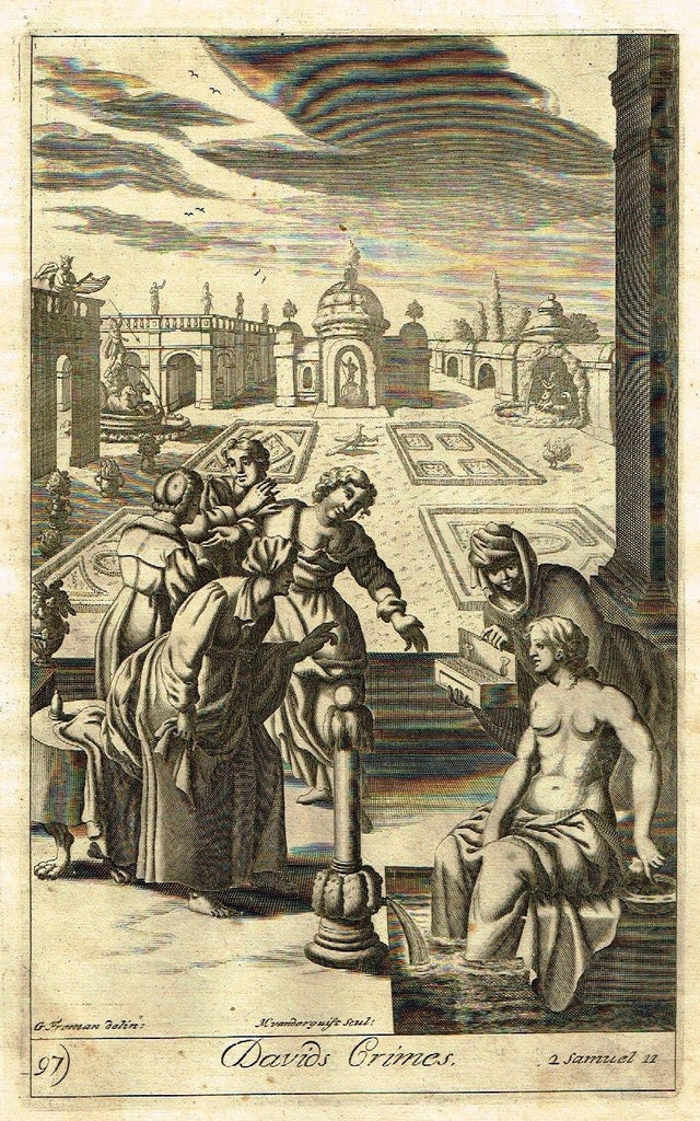 Antique Religious Print