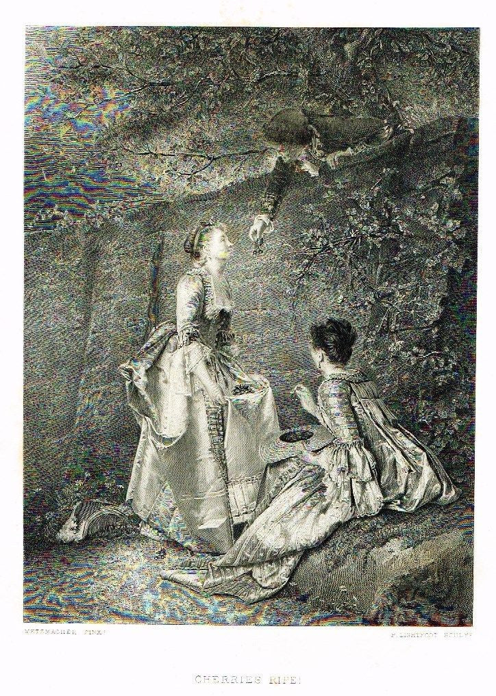 ANTIQUE fine art PRINT
