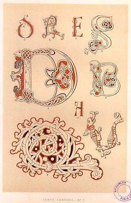 Antique Decorative Print