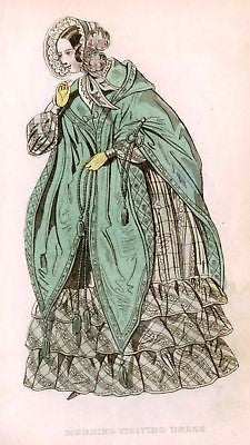 ANTIQUE FASHION PRINT