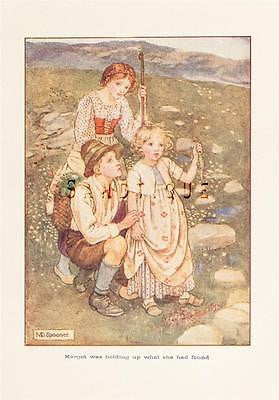 ANTIQUE CHILDREN'S PRINT