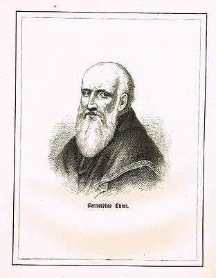 ANTIQUE PORTRAIT PRINT