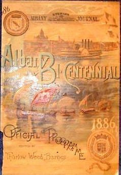 Albany N.Y. Advertisng -1886- BI-CENTENIAL COVERS - Sandtique-Rare-Prints and Maps