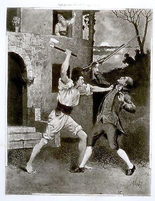 Dumas's Celebrated Crimes - 1895 - GABRIEL KILLS ELIGI