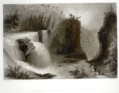 ANTIQUE BARTLETT PRINT
