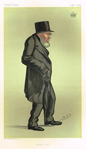 Vanity Fair SPY Portrait - NINETY-ONE - EARL OF MONTCASKELL - Large Chromolithograph - 1889