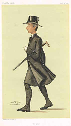 Vanity Fair SPY Caricature - TRURO (THE BISHOP OF TRURO) - Chromolithograph - 1895