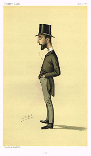 Vanity Fair SPY Caricature - TIM (TIMOTHY MICHAEL HEALY) - Chromolithograph - 1886