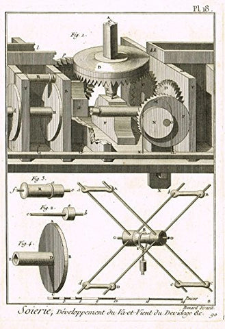 ANTIQUE MECHANICAL PRINT