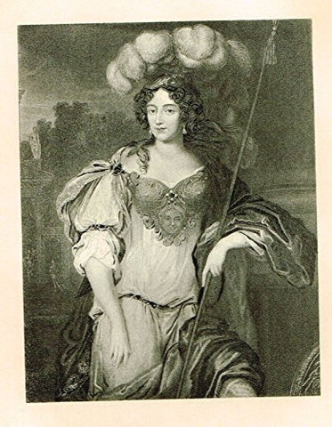 Memoires of the Court of England - FRANCES STEWART, DUCHESS OF RICHMOND - Photo-Etching - 1843
