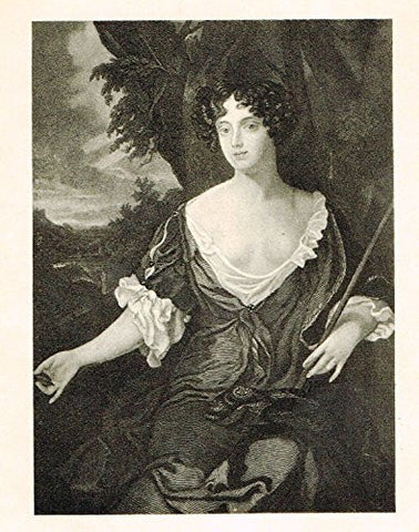 Memoires - LOUISE DE QUEROUOUILLE, DUCHESS OF PORTSMOUTH - Photo-Etching - 1843