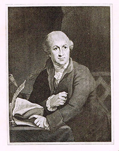 Memoires of the Court of England - DAVID GARRICK - Photo-Etching - 1843