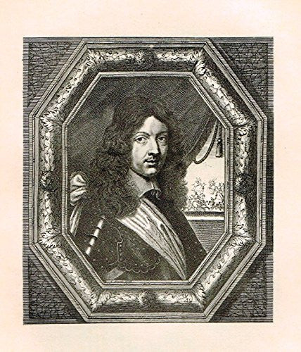 Memoirs of the Court of England - CHARLES II - Photo Etching - 1880