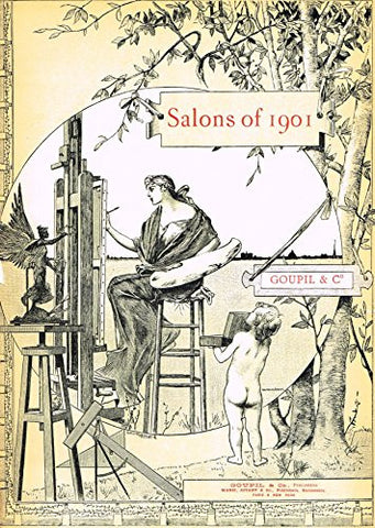 Salons of 1901's FRONTPIECE - Photograveure - 1901