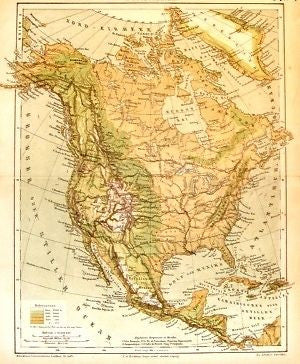 ANTIQUE MAP PRINTS