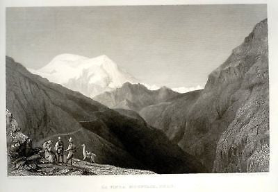 """Expedition"" by Wilkes - 1858 - VINDA MOUNTAIN , PERU - Sandtique-Rare-Prints and Maps"