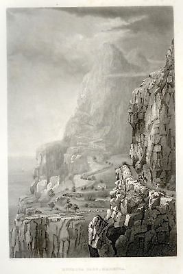 """Exploring Expedition"" by Wilkes - 1858 - E STROZA PASS"