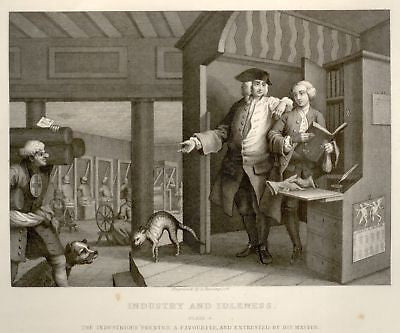 ANTIQUE SATIRE PRINT